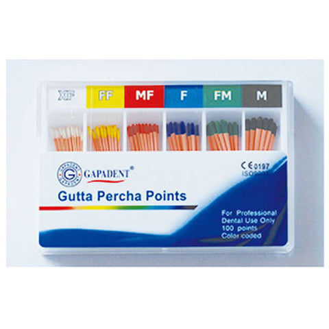 Gapadent® 5*Boxes Dental Endodontics Gutta Percha Points Accessory
