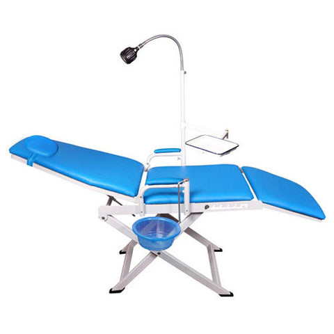 LYC9601-2-1 Blue Dental Portable Folding Chair Unit