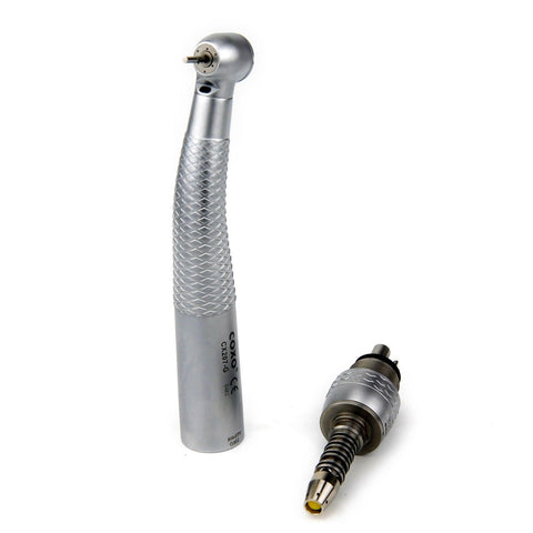 CX207-GS-TPQ Fiber Optic Torque Push Dentist Drill Handpiece WITH Sirona LED Quick Coupling