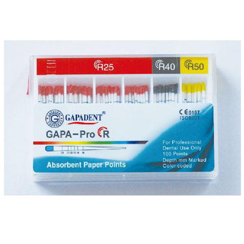 Gapadent® 5*Boxes Dental Endodontics Absorbent Paper Points GAPA- PRO. R