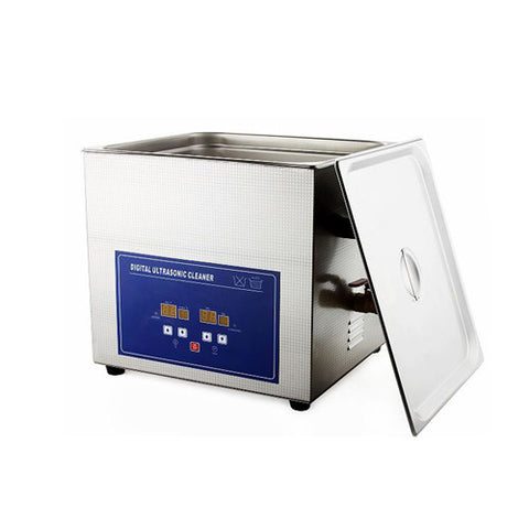 PS-60A Large Capacity Dental Digital Ultrasonic Cleaner with Timer & Heater 15L