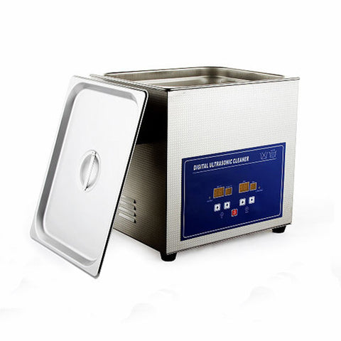 PS-40A Digital Ultrasonic Cleaner with Trimer and Heater 10L