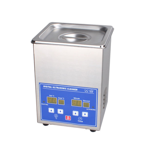 PS-10A Digital Ultrasonic Cleaner 2L with Timer & Heater