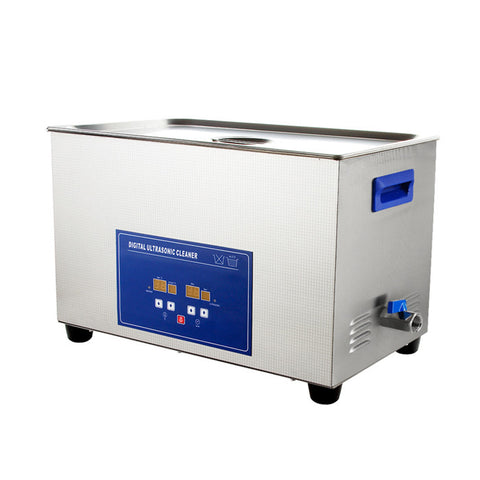 PS-100A Large Capacity Dental Digital Ultrasonic Cleaner with Timer & Heater 30L