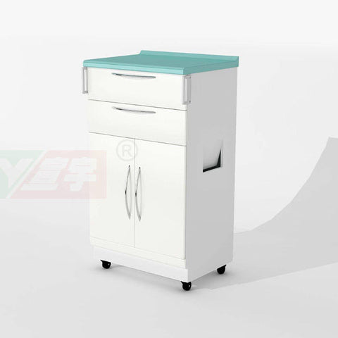 XY M4A Dental Mobile Dustbin Cabinets
