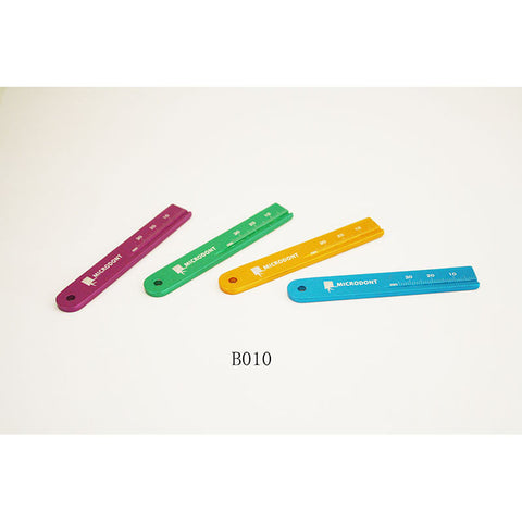 Ruier® B010 Dental Endodontic Span Measure Scale Ruler