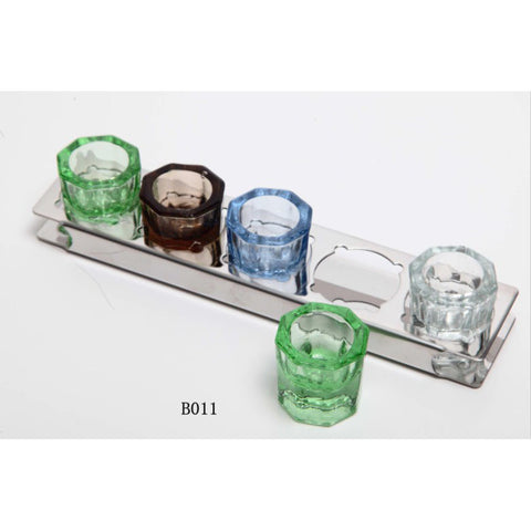 Ruier® B011 Dental Medicine Mixing Package (cups with rack)