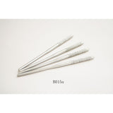 Ruier® 5 pcs Dental Stainless Steel Mouth Mirror Handle B015