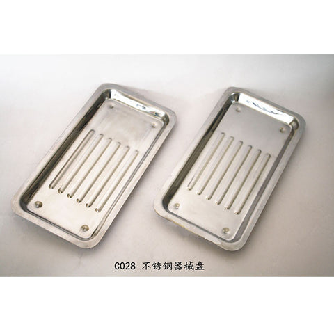 Ruier® C028 Dental Tray Instruments Autoclavable Stainless Steel Dish