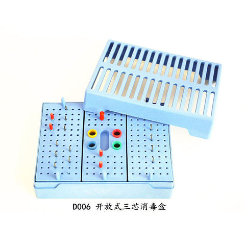 RUIER® D006 DENTAL BUR BLOCK STERILIZER ENDO BOX SUIT