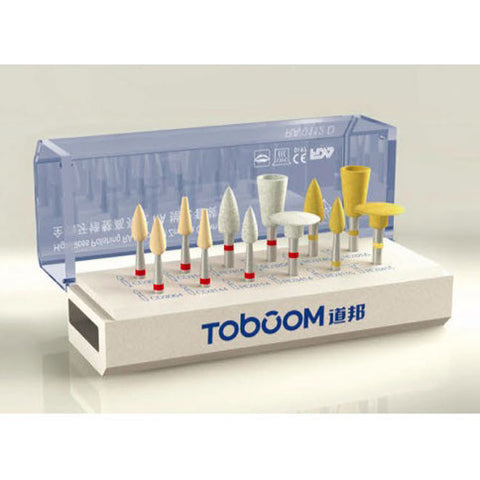 Toboom® Dental Polishing Burs Kit for Zirconia Restorations RA0112D
