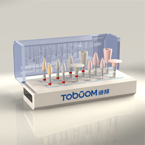 Toboom® Dental Polishing Kit for Glass Porcelain Oral Grinder RA1212D