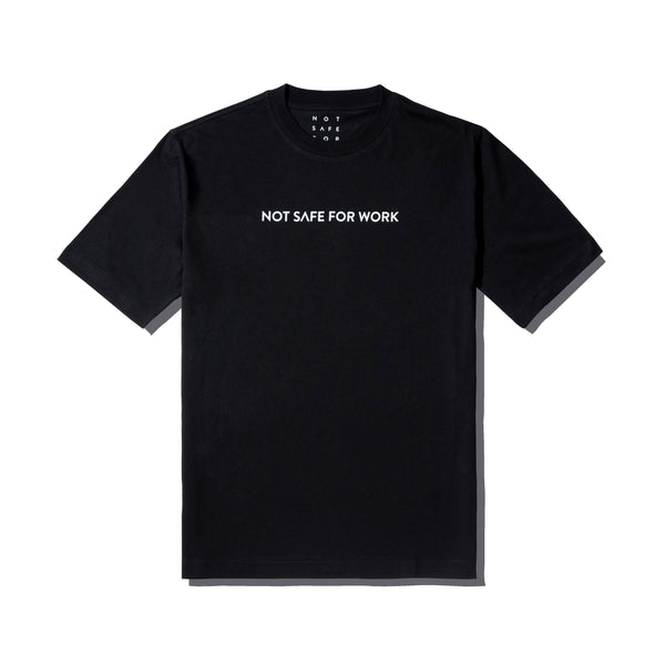 Tee - Linear Black - nsfwclothing