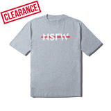 Tee - Strikethrough Gray - nsfwclothing