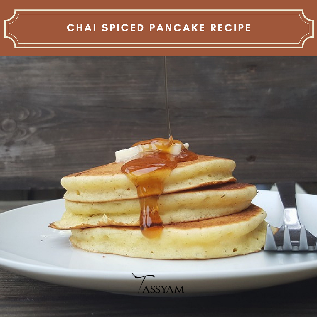 CHAI SPICED PANCAKE RECIPE