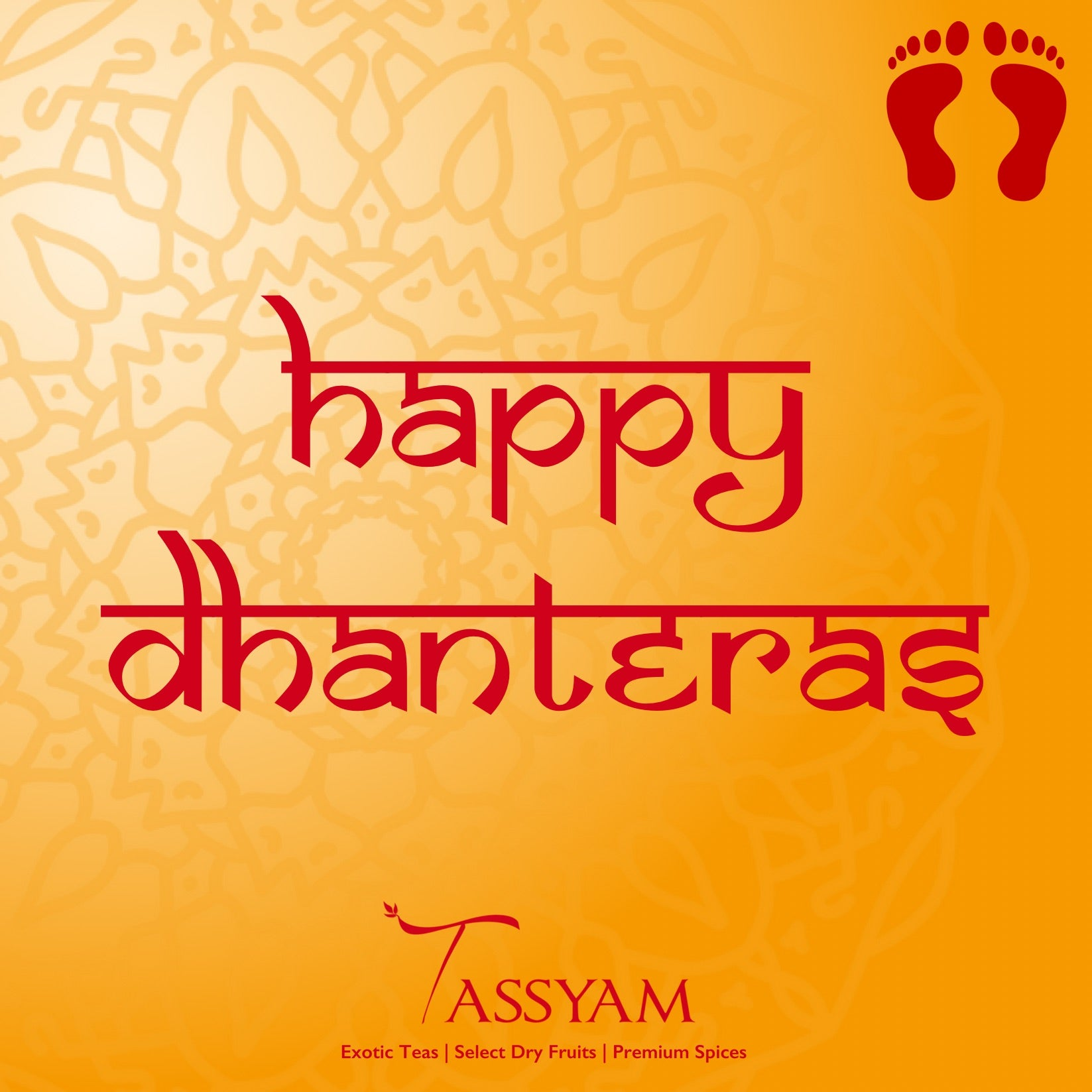This Dhanteras give the WEALTH of HEALTH with Tassyam!