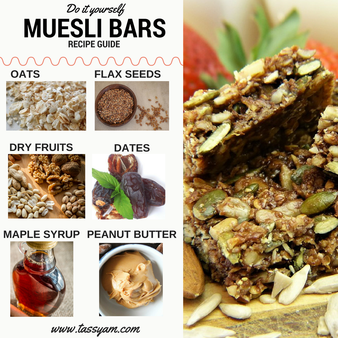 DIY Muesli Bars Recipe