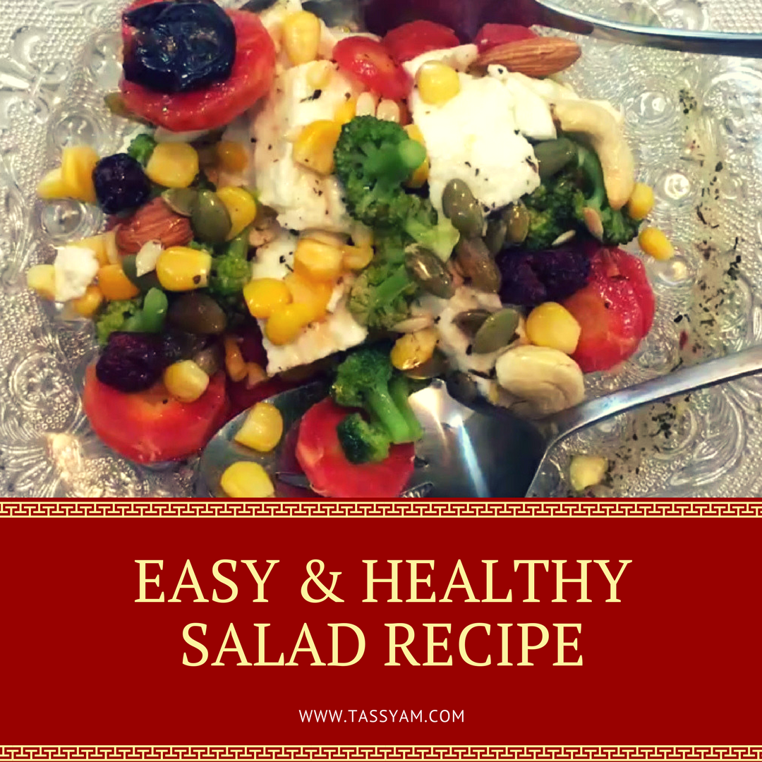 EASY & HEALTHY SALAD RECIPE