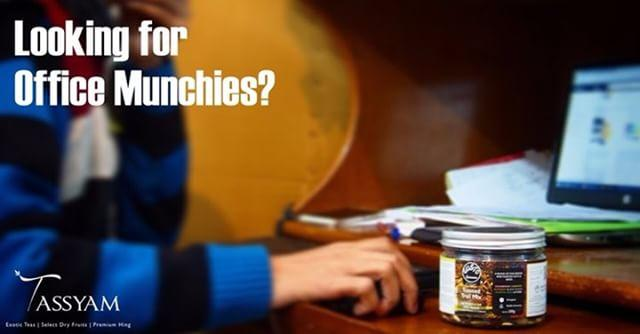 Looking for Office Munchies?