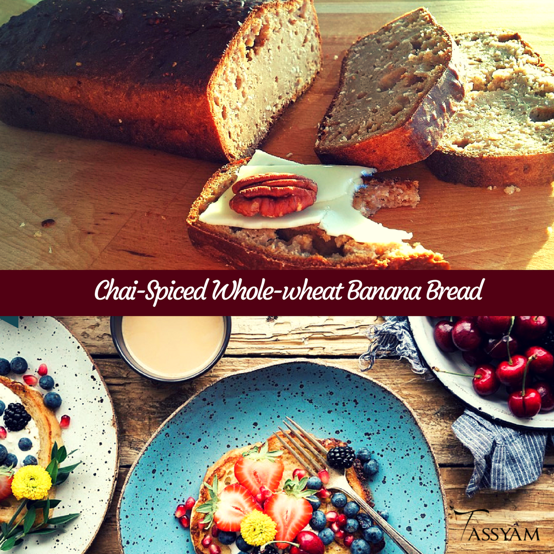 Chai-Spiced Whole-wheat Banana Bread Recipe