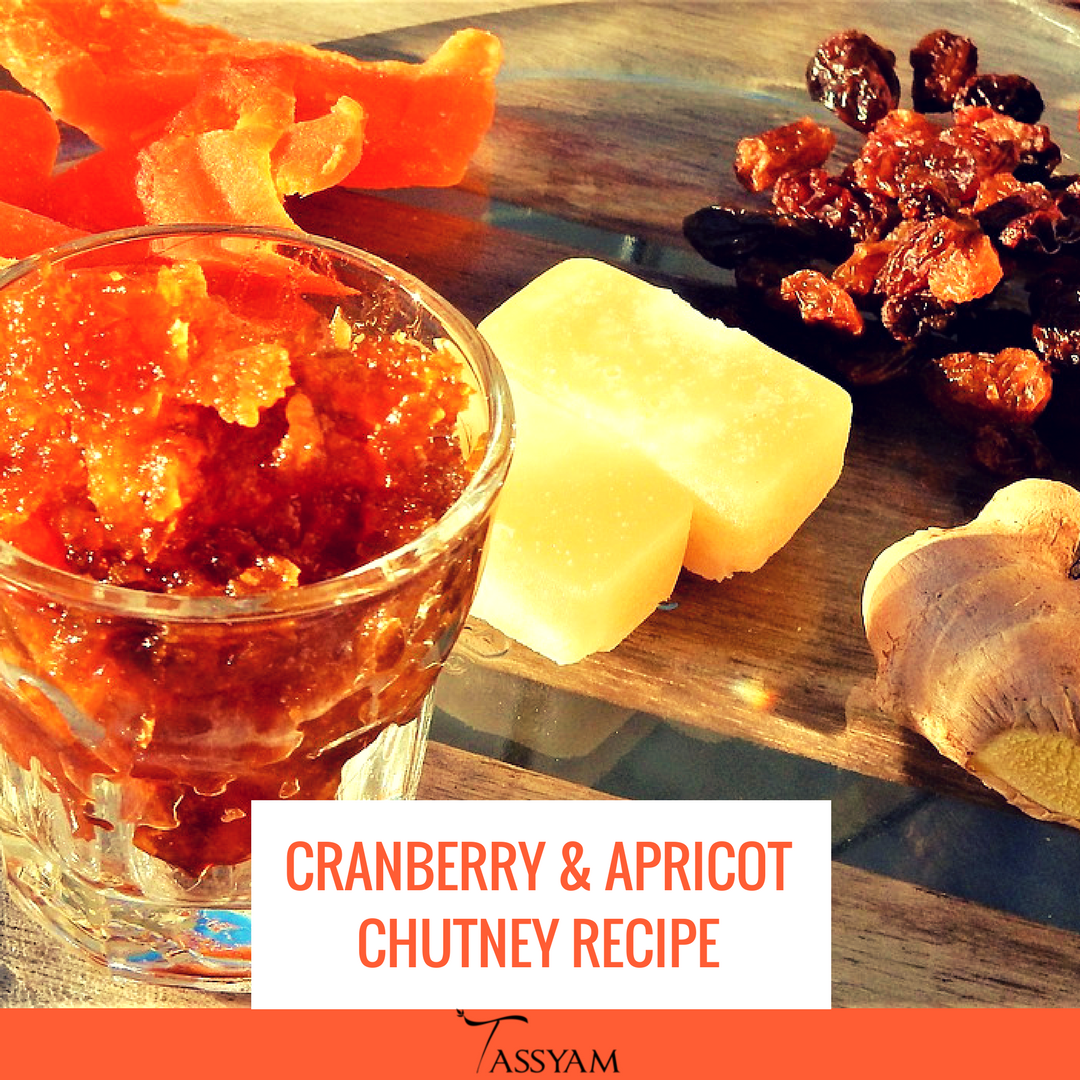 Cranberry & Apricot Chutney Recipe