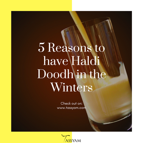 5 Reasons to have Haldi Doodh in the Winters