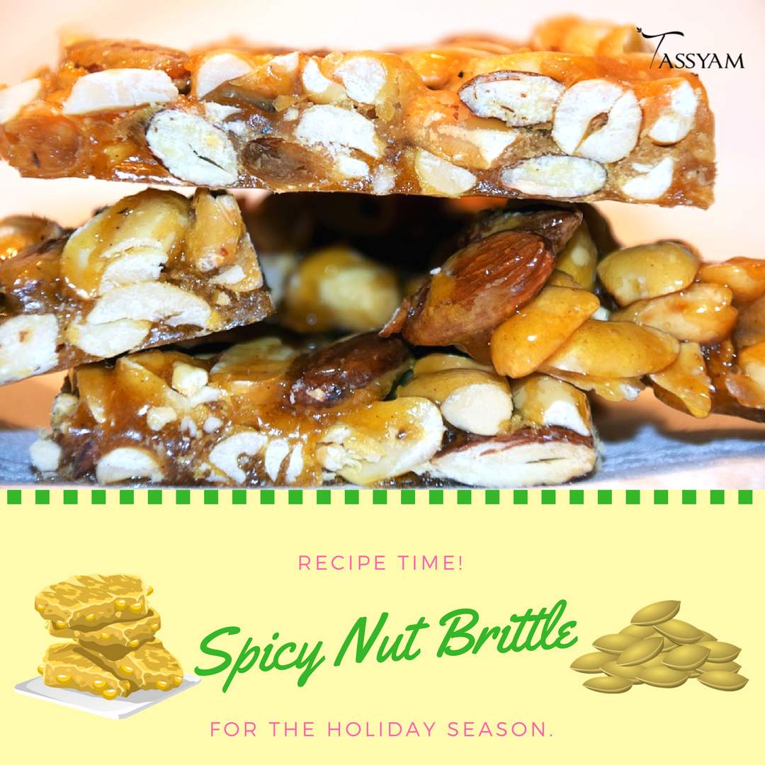 Spicy Nut Brittle Recipe