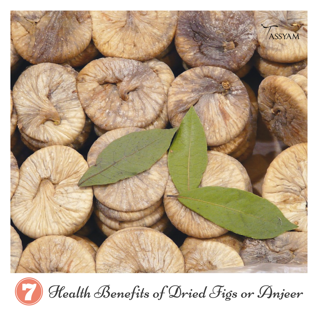 7 Health Benefits of Dried Figs or Anjeer
