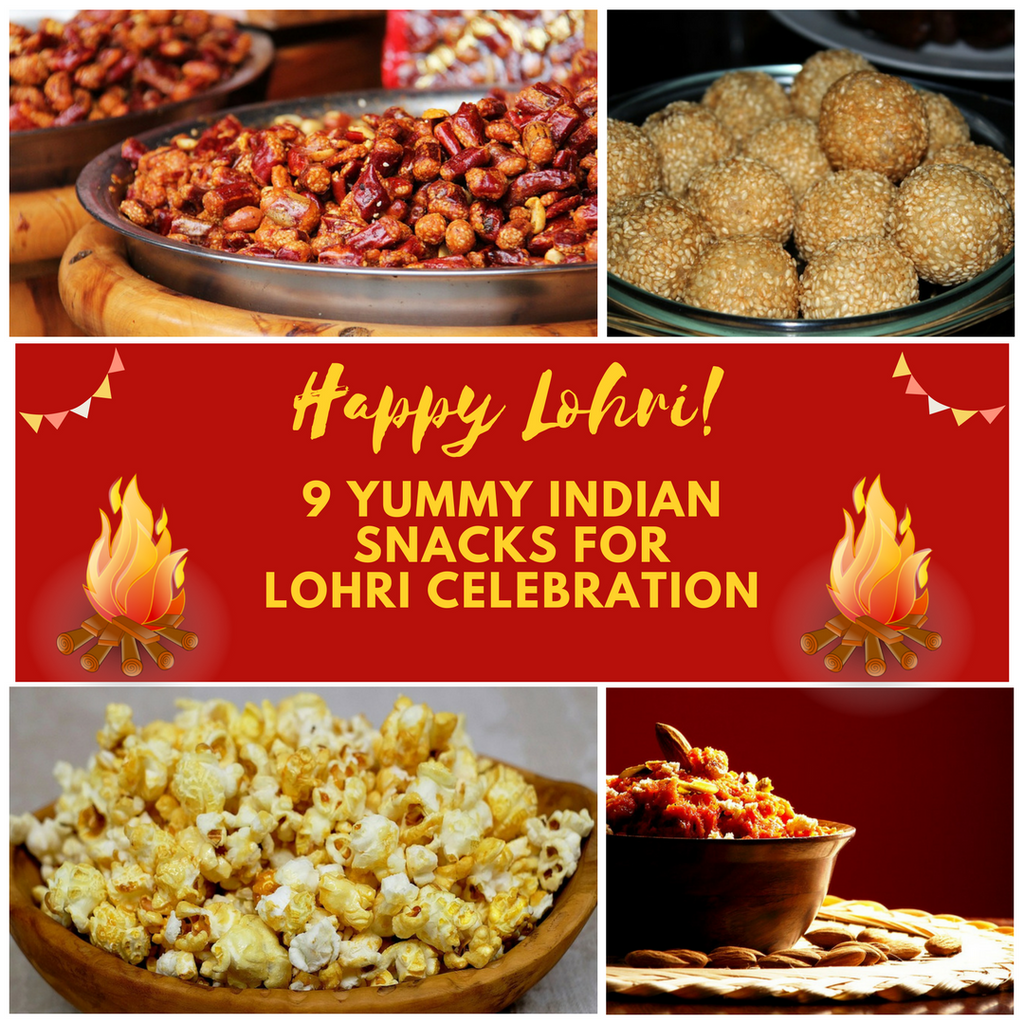 9 Yummy Snacks for Lohri Celebration