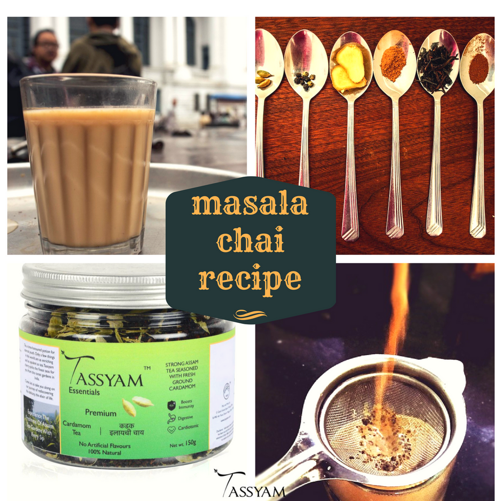 How to make Indian Masala Chai