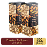 Raw Almond Kernels - 250g Box, Dry Fruit, Gusto Spicerie - Best Indian Teas