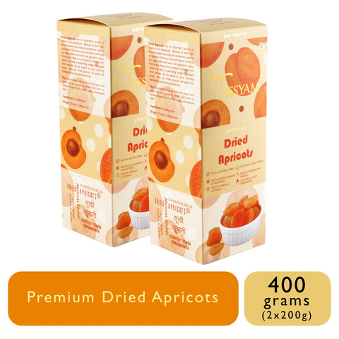 Turkish Dried Apricots - 200g Box, Dry Fruit, Gusto Spicerie - Best Indian Teas