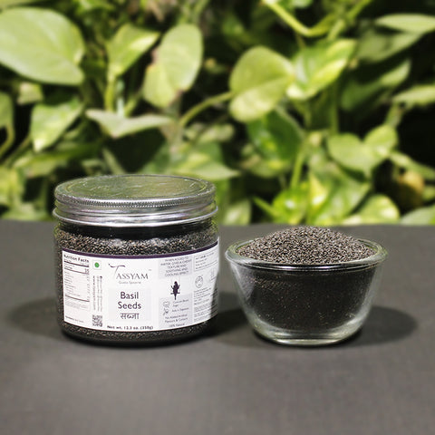 Basil Seeds 350g Jar