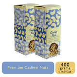 W240 Mangalore Cashew Nuts - 200g Box, Dry Fruit, Gusto Spicerie - Best Indian Teas