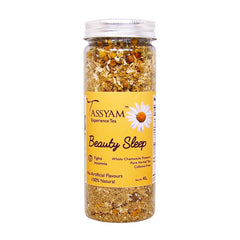 Tassyam Beauty Sleep | Chamomile Herbal Tea 40g, Tea, Tassyam - Best Indian Teas