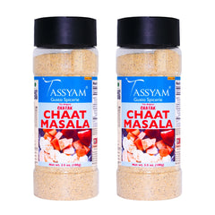 Tassyam Chatak Chaat Masala, 200g (100g x2) | 15 Herbs & Spices, No Preservatives, Fillers & Sugar, Spice, Tassyam - Best Indian Teas