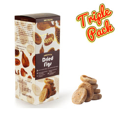 Dried Figs - 600g (3x 200g) Boxes | Limited Period Pack, Dry Fruit, Gusto Spicerie - Best Indian Teas