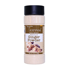 Tassyam Ginger Powder 100g | Dispenser Bottle, Spice, Gusto Spicerie - Best Indian Teas