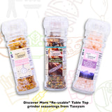 Tassyam Pink Salt Granules 125g | Grinder Bottle, Spice, Gusto Spicerie - Best Indian Teas