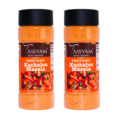 Tassyam Instant Kachaloo Masala, 200g (100g x2) | Also for Aloo/ Potato chaat Herbs & Spices, No Preservatives, Fillers & Sugar, Spice, Tassyam - Best Indian Teas