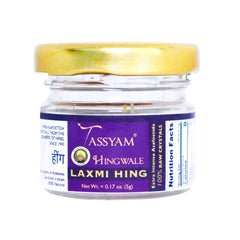 Tassyam Hingwale Laxmi Raw Hing Crystals 5g Bottle | 100% Pure & Natural