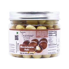 Tassyam Exotic Macadamia Nuts 250g | Premium Imported Nuts, Dry Fruit, Tassyam - Best Indian Teas