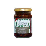 Tassyam VP Premium Mango Masala Pickle 160g bottle | Earthen Jars, Hingwale Asafoetida, Fresh Mango Aachar, Teekhi Spices, Spice, Gusto Spicerie - Best Indian Teas