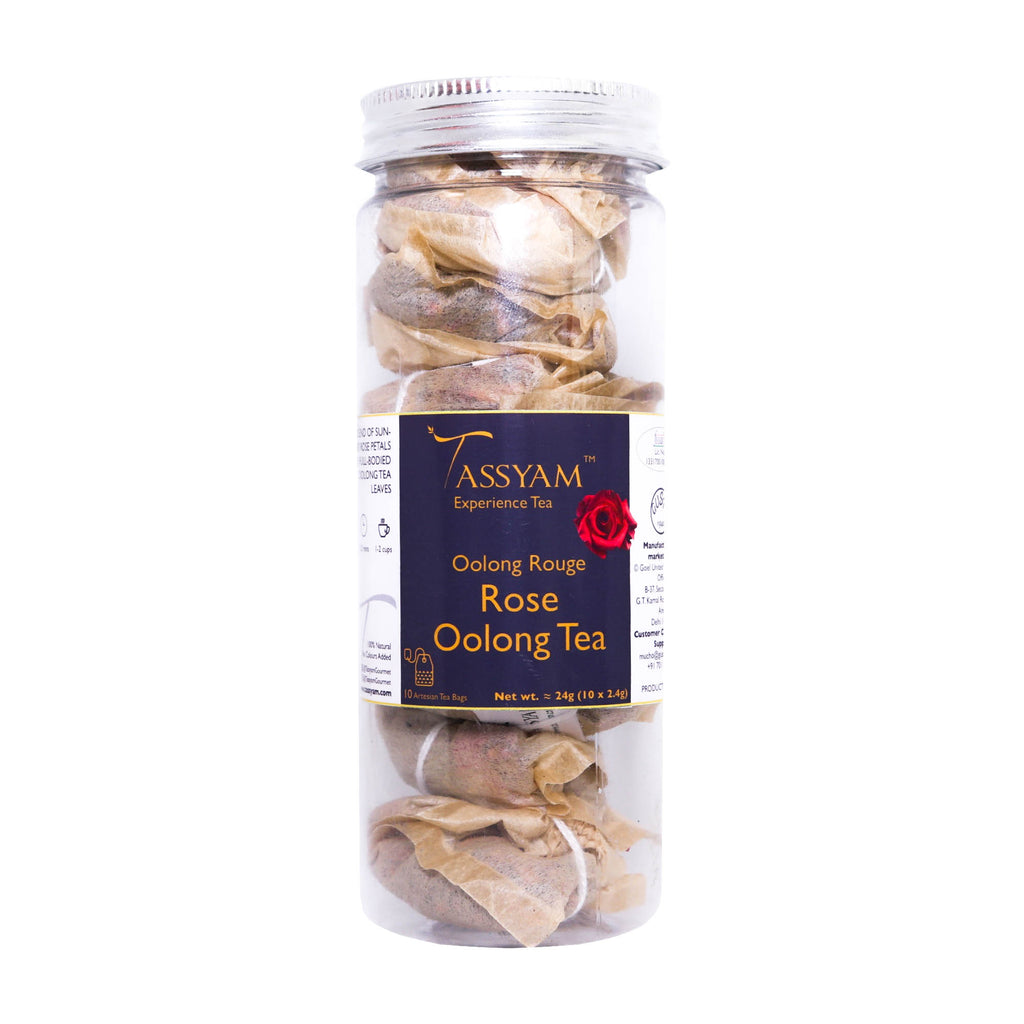 Tassyam Oolong Rouge | 10 Natural Teabags, Tea, Tassyam - Best Indian Teas