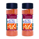 Tassyam Portuguese Peri Peri Seasoning 200g (100g x2) | Dispenser Bottle, All Natural, Moderate Spicy, Flavour Burst, Spice, Tassyam - Best Indian Teas