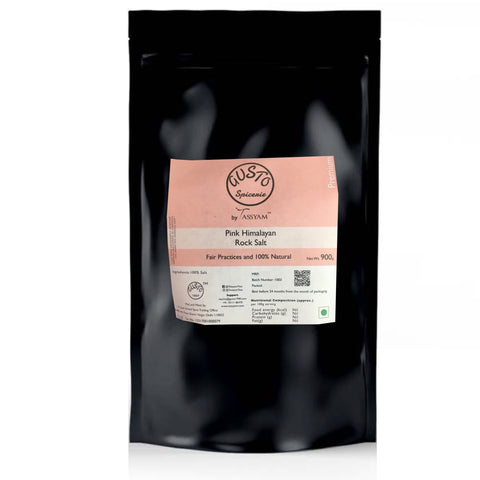 Gusto Spicerie Pink Rock Salt 900g, Salt, Gusto Spicerie - Best Indian Teas