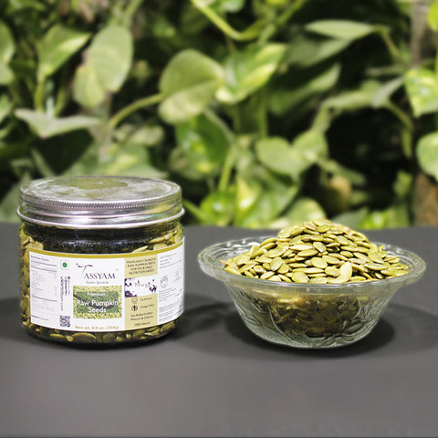 Raw Pumpkin Seeds - 250g  Jar