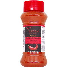 Tassyam Red Chilli Powder 80g | Dispenser Bottle, Spice, Gusto Spicerie - Best Indian Teas