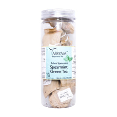 Tassyam Ashna Spearmint | 10 Natural Teabags, Tea, Tassyam - Best Indian Teas