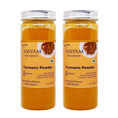 Ground Turmeric/ Haldi Powder 300g (2x 150g), Spice, Gusto Spicerie - Best Indian Teas